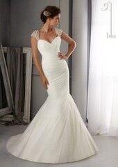 Свадебное платье напрокат Mori Lee Платье свадебное Blu 5270