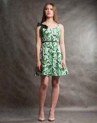 Платье женское MISUTERI Платье Yumi Green SS0170