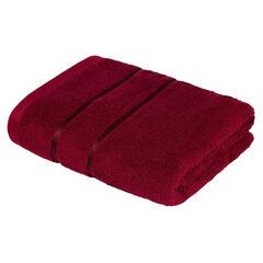 Подарок Ecotex Набор полотенец махровых «Египетский хлопок» бордовый, 2 шт