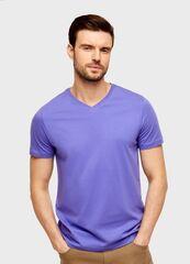 Кофта, рубашка, футболка мужская O'stin Футболка с V-горловиной из джерси MT6U12-72