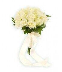 Магазин цветов Фурор Букет из белых роз