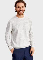 Кофта, рубашка, футболка мужская O'stin Джемпер из твидoвой пряжи MK4T55-00