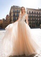 Свадебный салон Ida Torez Свадебное платье Lanisadeta