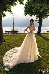 Свадебный салон Bonjour Свадебное платье Steysy из коллекции Royal Luxury 2018