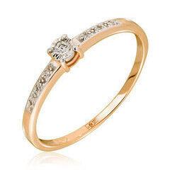 Ювелирный салон Jeweller Karat Кольцо золотое с бриллиантами арт. 3214873/9