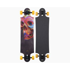 Скейтборд Landyachtz Лонгборд Ten Two Four Skull