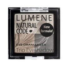 Декоративная косметика LUMENE Тени для век тройные Natural Code, оттенок 2