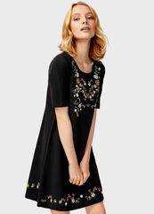 Платье женское O'stin Платье в цветочный принт LT2T68-99