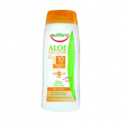 Уход за телом Equilibra «Aloe» Солнцезащитный крем SPF 10+ с комплексом Prosun-UV