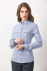 Кофта, блузка, футболка женская Elema Блузка женская Т-6878