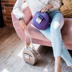 Магазин сумок Vezze Кожаная женская сумка C00488