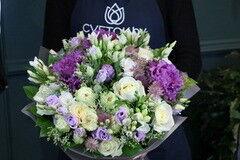 Магазин цветов Cvetok.by Букет «Брассика лаванда»