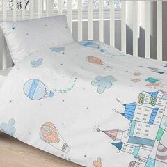 Подарок Ecotex Комплект постельного белья в детскую кроватку арт. 22