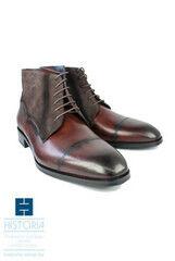 Обувь мужская HISTORIA Ботинки мужские, из комбинированной кожи