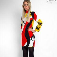 Платье женское Pintel™ Мини-платье прямого силуэта Shönien