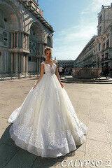 Свадебный салон Bonjour Свадебное платье Calypso из коллекции La Douceur