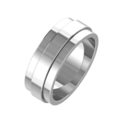 Ювелирный салон ZORKA Обручальное кольцо 147058/W