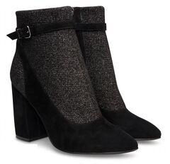 Обувь женская Ekonika Ботильоны EN1180-25 black-18Z