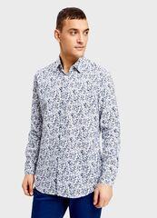 Кофта, рубашка, футболка мужская O'stin Рубашка с цветочным принтом MS4U31-62