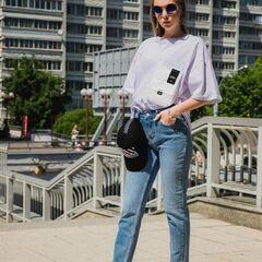Кофта, блузка, футболка женская It's me! (Это Я!) Футболка с большим карманом