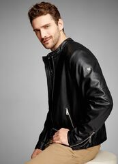 Верхняя одежда мужская O'stin Кожаная куртка MJ6S38-99