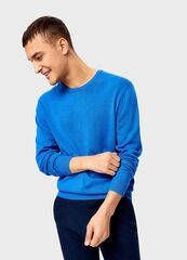 Кофта, рубашка, футболка мужская O'stin Джемпер с круглым вырезoм MK6U11-63