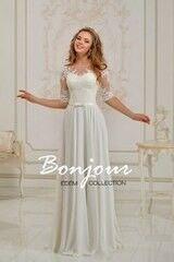 Свадебное платье напрокат Bonjour Платье свадебное «Joséphine 2» из коллекции EDEM 2016
