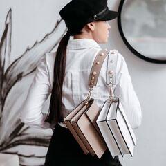 Магазин сумок Vezze Кожаная женская сумка C00475
