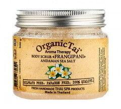Уход за телом Organic Tai Натуральный скраб для тела «Франжипани»