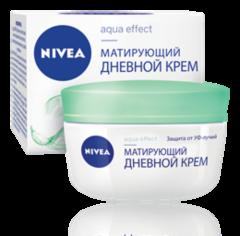 Уход за лицом NIVEA Крем дневной матирующий Aqua Effect