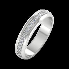 Ювелирный салон ZORKA Обручальное кольцо 154067/W