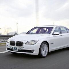 Прокат авто Прокат авто с водителем, BMW F02 7 series белого цвета