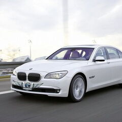 Прокат авто Прокат авто BMW F02 7 series белого цвета