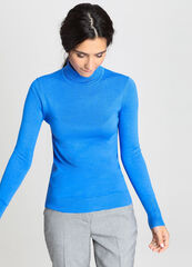 Кофта, блузка, футболка женская O'stin Базовый джемпер LK6V51-65