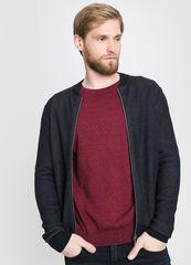 Кофта, рубашка, футболка мужская O'stin Кардиган мужской на молнии MK1W11-69