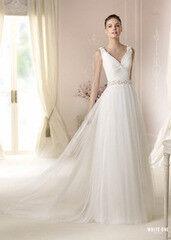 Свадебное платье напрокат А-силуэт White One (Pronovias) Платье свадебное «Dalina»
