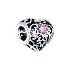 Ювелирный салон Sokolov Подвеска из чернёного серебра с розовыми фианитами 95030147