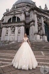 Свадебное платье напрокат А-силуэт Bonjour Платье свадебное «Santia» из коллекции LE DELICE 2018