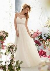Свадебное платье напрокат Mori Lee Свадебное платье 6764