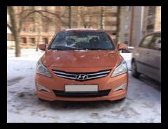 Прокат авто Прокат авто Hyundai Solaris (2016 г.в, оранжевый)
