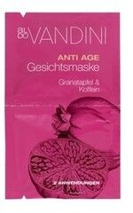 Уход за лицом Aldo Vandini Антивозрастная маска для лица «Гранат и Кофеин» Anti Ageing Face Mask Pomegranate & Caffeine