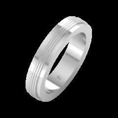 Ювелирный салон ZORKA Обручальное кольцо 1D4068/W