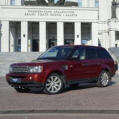 Прокат авто Прокат авто Range Rover Sport бордового цвета