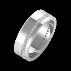 Ювелирный салон ZORKA Обручальное кольцо 1D6045/W