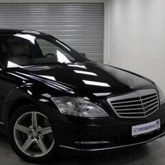 Аренда авто Mercedes-Benz S500 W221 2012 г. (с водителем)