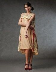 Платье женское MISUTERI Платье Tekina Yellow SS0141