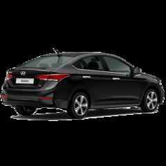 Прокат авто Прокат авто Hyundai Solaris черный 2018
