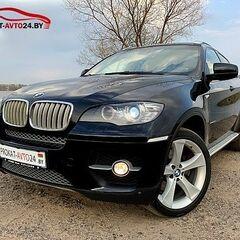 Прокат авто Прокат авто BMW X6 2011 черный