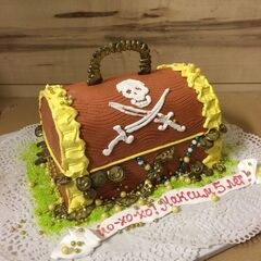 Торт МЕГАТОРТ Торт «Йо-хо-хо, Максим!»