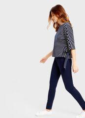 Кофта, блузка, футболка женская O'stin Джемпер в полоску LT4S57-68